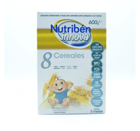 NUTRIBEN INNOVA 8 CEREALES 600 G Parafarmacia