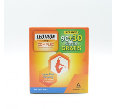 LEOTRON COMPLEX 90 CAPS +30 GRATIS Parafarmacia