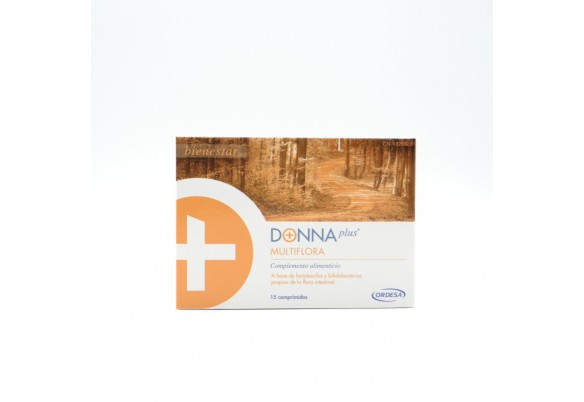 DONNA PLUS+ MULTIFLORA 15 COMP Parafarmacia