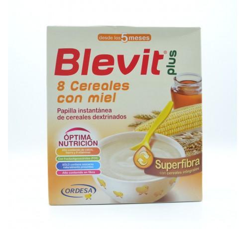 BLEVIT PLUS SP FIBRA 8 CEREALES Y MIEL 600 GR Parafarmacia