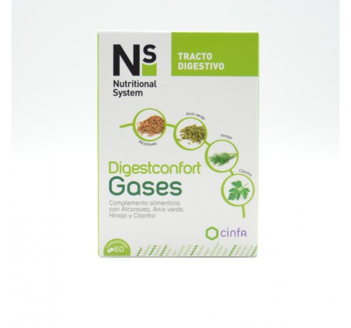 NS DIGESTCONFORT GASES 60 COMP Parafarmacia