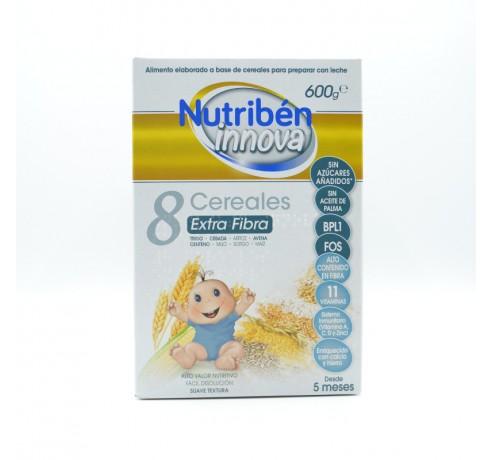 NUTRIBEN INNOVA 8 CERE EXTRAFIBRA 600 GR Parafarmacia