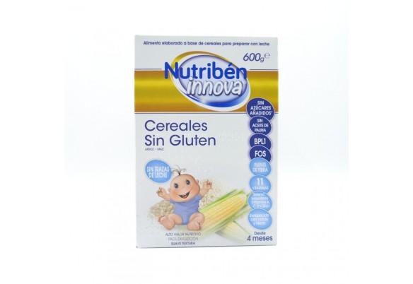 NUTRIBEN INNOVA CEREALES SIN GLUTEN 600 G Parafarmacia