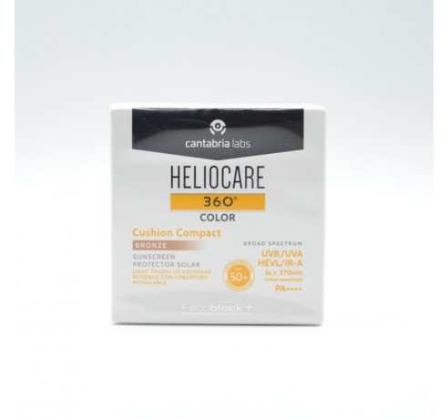 HELIOCARE 360º CUSHION COMPACT BRONZ SPF50+ Parafarmacia