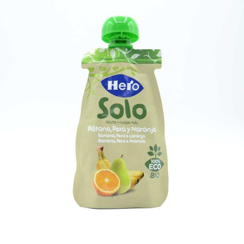HERO BABY SOLO PLATANO PERA Y NARANJA 100 G Parafarmacia