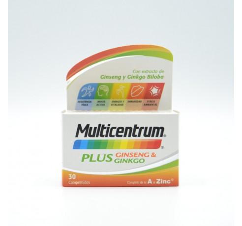 MULTICENTRUM PLUS GINSENG Y GINKGO 30 COMP Parafarmacia