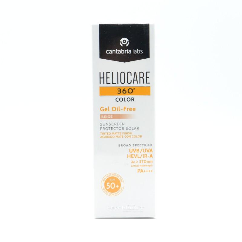 HELIOCARE 360º SPF 50+ COLOR BEIGE GEL OIL-FREE Parafarmacia